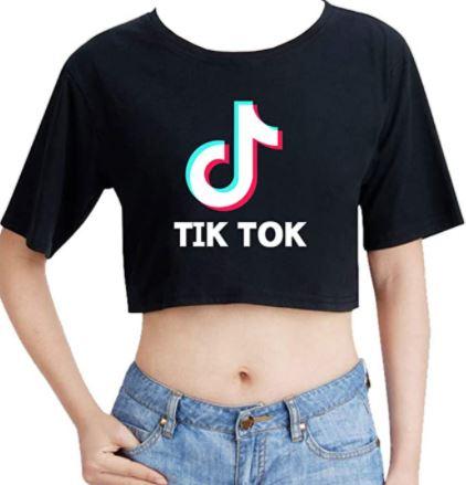 comprar camisetas de tik tok, camisetas tiktok baratas para mujer niñas y hombres
