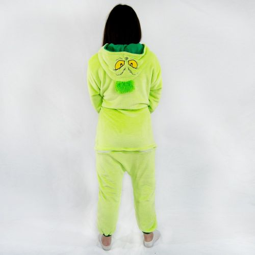 enterizo pijama grinch