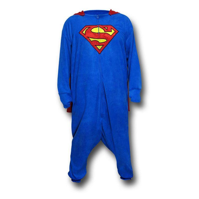 comprar un pijama entero de superman con capa, pijama enteriza superman