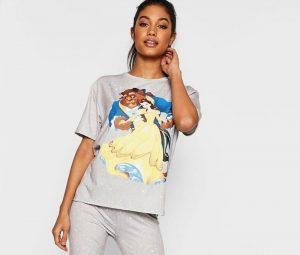 comprar pijama gris bella y bestia