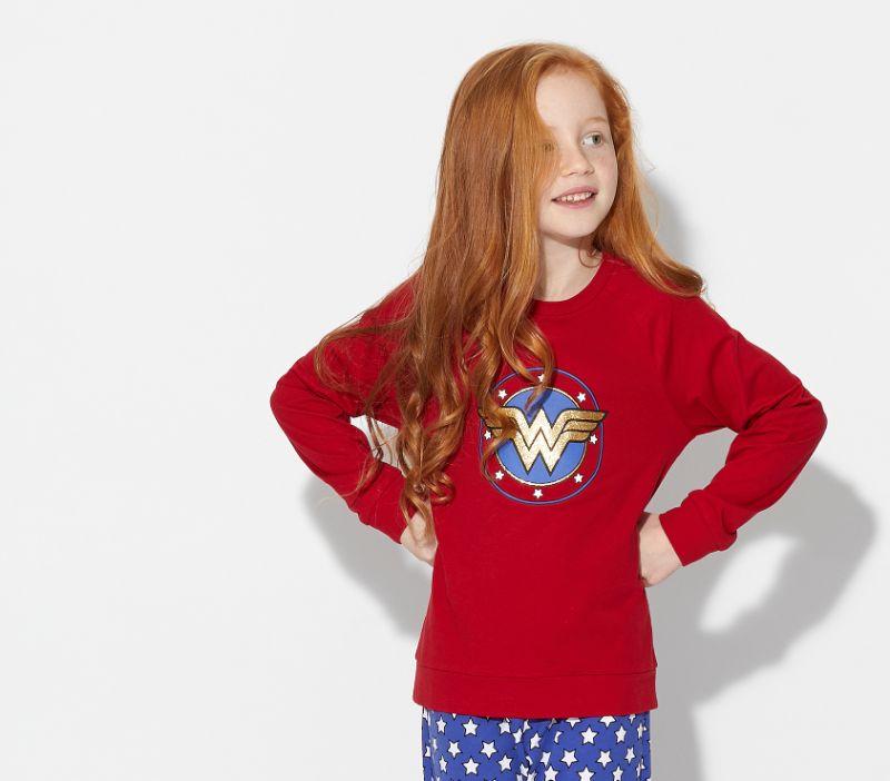 comprar pijamas de wonder woman o mujer maravilla para mujeres y niñas