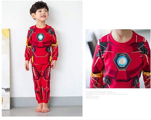 comprar pijama iron man para hombre mujer y niños