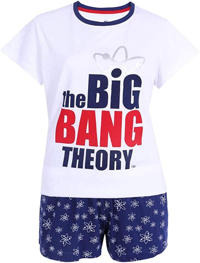 comprar pijamas big bang theory para hombres mujeres y niños