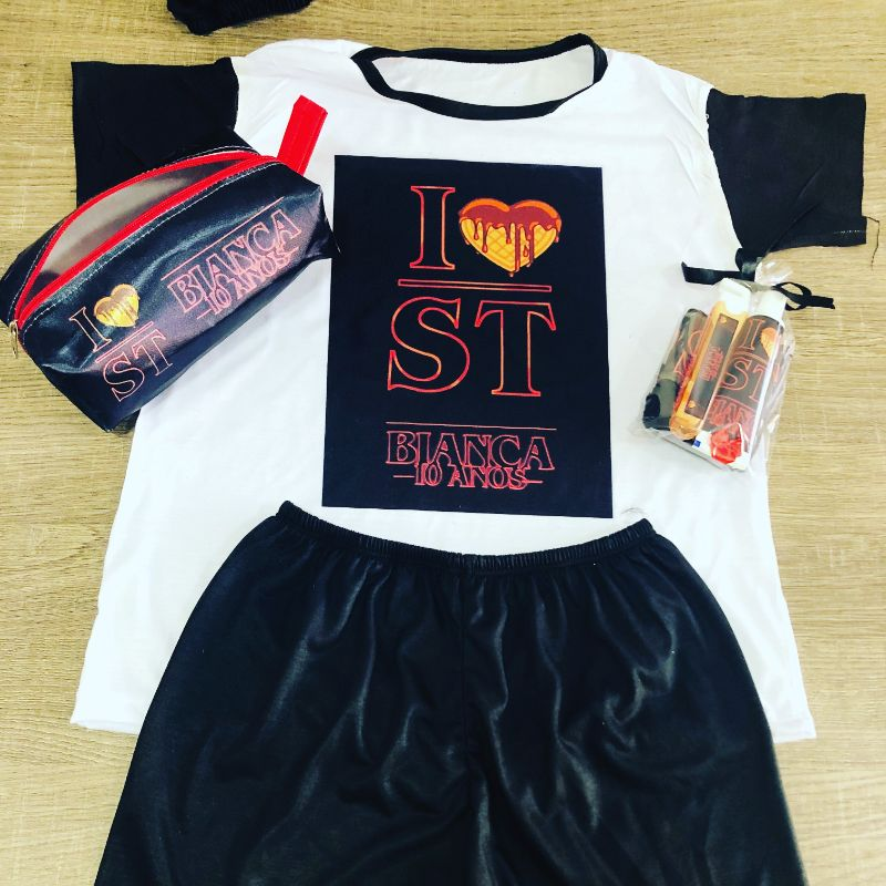 pijama original stranger things barato