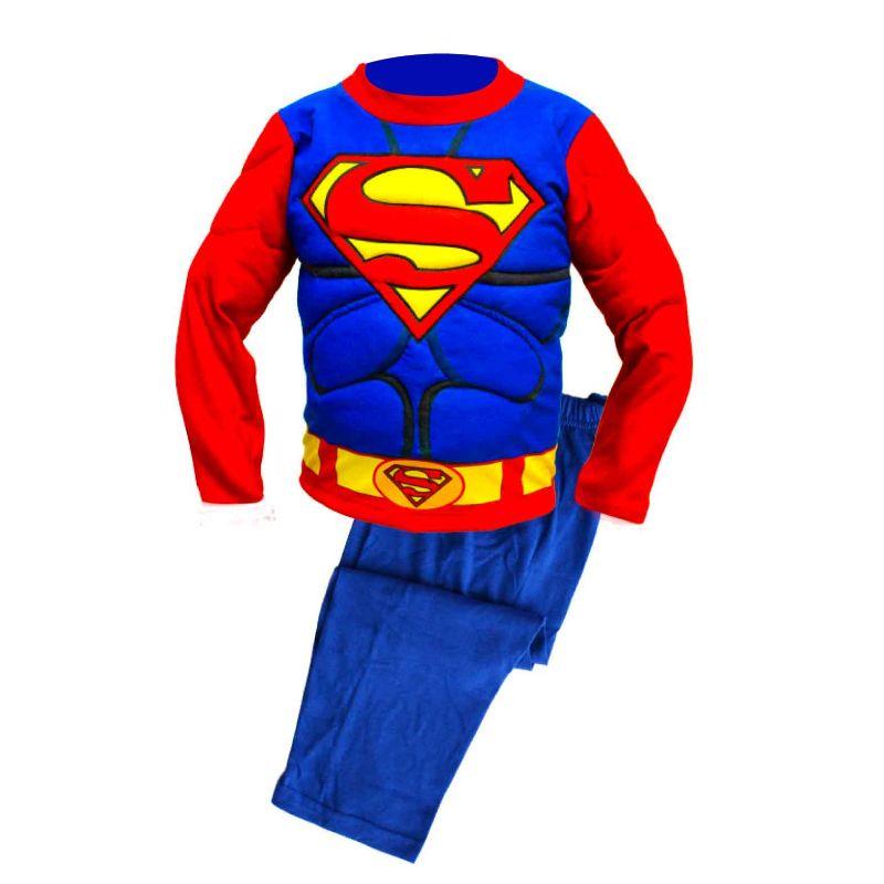 comprar pijamas de superman al mejor precio, pijamas superman para hombre mujer niños y niñas, pijamas baratos de superman