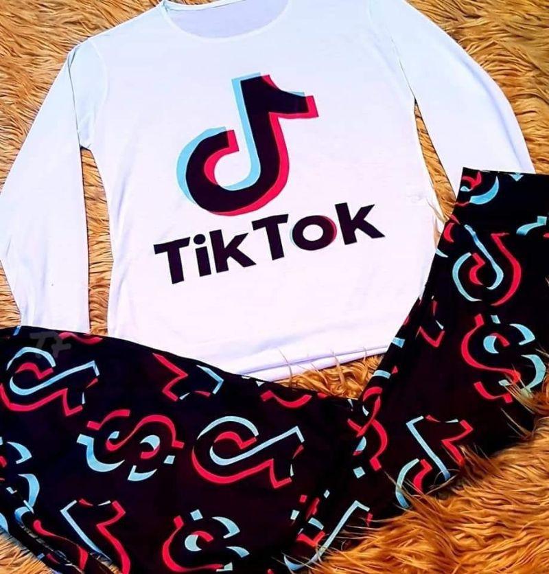 comprar pijamas de tiktok para mujeres y niñas, pijamas de tik tok baratos