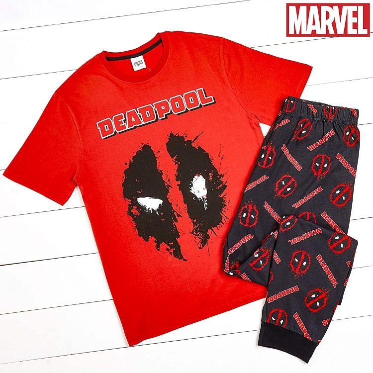 comprar pijamas deadpool divertidos llamativos y originalmente frikis para hombres, mujeres y niños!