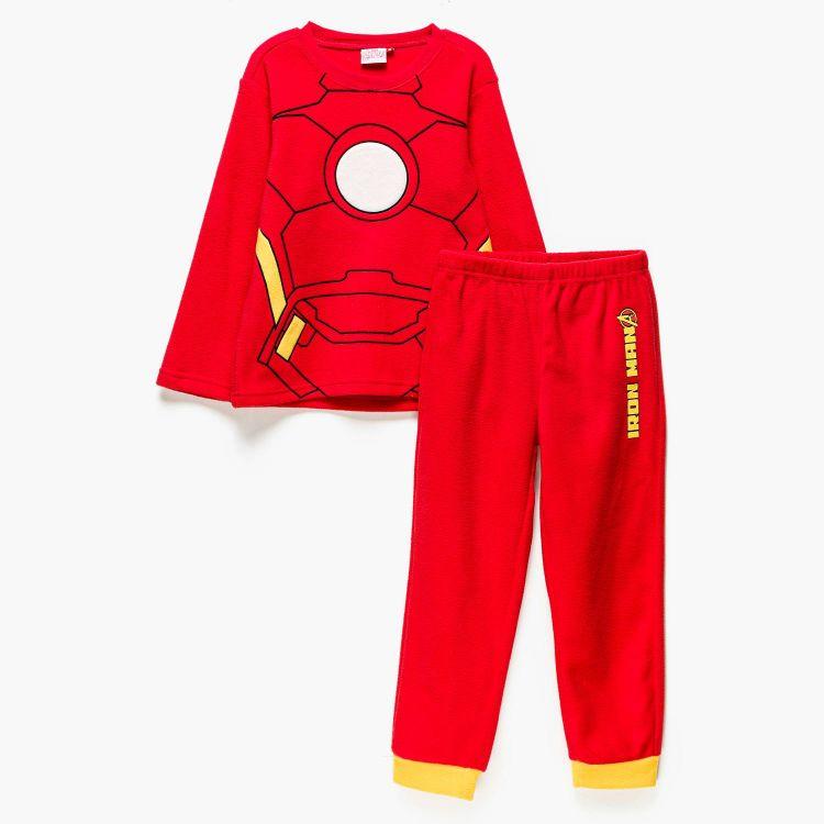 conjunto pijama de iron man