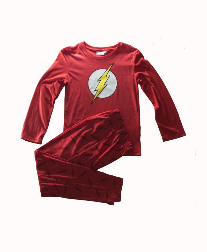 pijama roja de flash