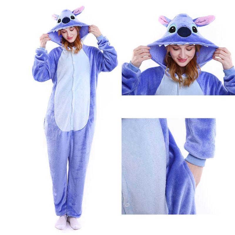 pijama lilo stitch azul