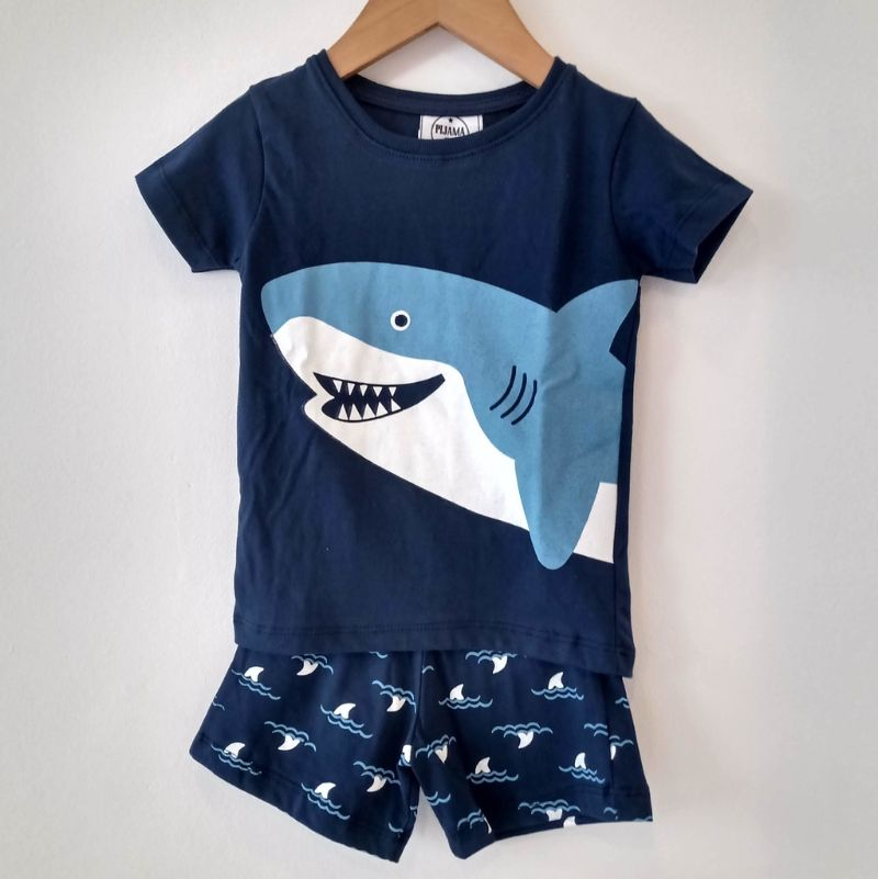 comprar pijamas de tiburón para toda la familia