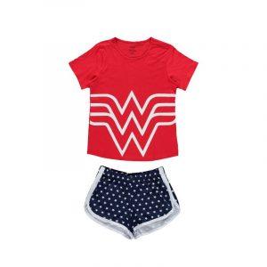 pijama wonder woman mujer o niña