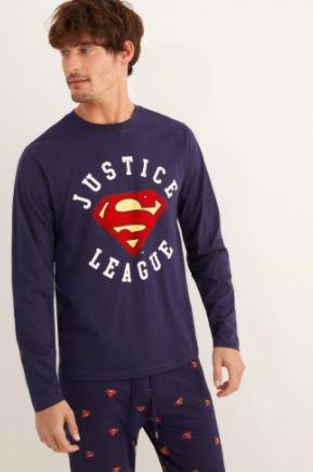 comprar pijamas de la liga de la justicia, pijamas de justice league, pijama liga de la justicia para hombres mujeres y niños