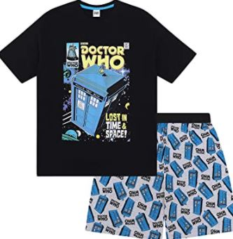 comprar pijamas del doctor who al mejor precio baratos para hombre mujer niños
