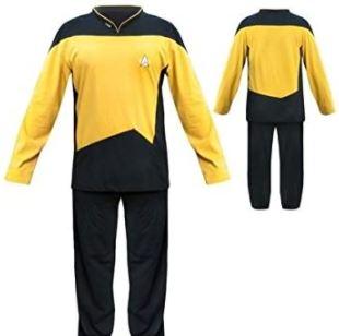 comprar pijamas star trek para hombres y mujeres y niños
