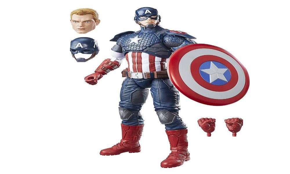 Juguetes Capitán América originales