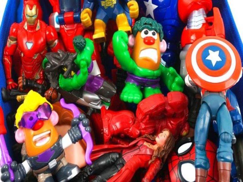 Juguetes súper héroes Marvel VARIOS