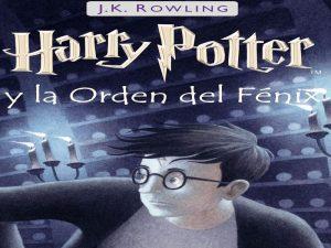 Libros de Harry Potter en orden quinto libro