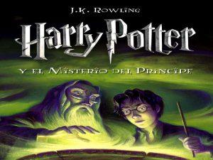 Libros de Harry Potter en orden sexto libro