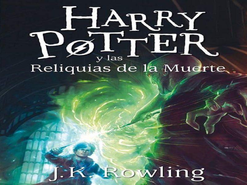 Libros de Harry Potter en orden septimo septimo libro