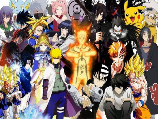 ¿cual es el mejor anime del mundo? collage de los mejores animés del mundo