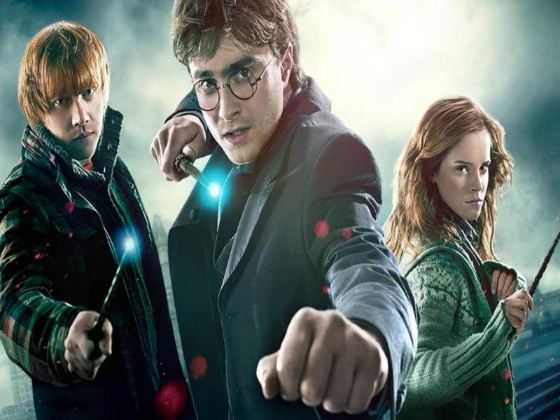 Mejor película de Harry Potter con los protagonistas grandes