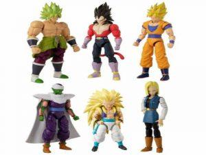 seis Muñecos Dragon Ball articulados