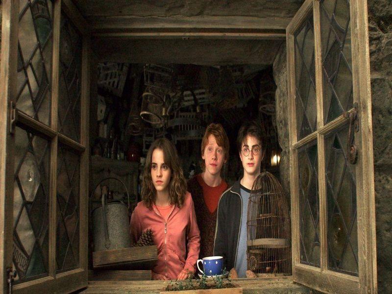 Resumen Harry Potter y el Prisionero de Akaban y los tres amigos