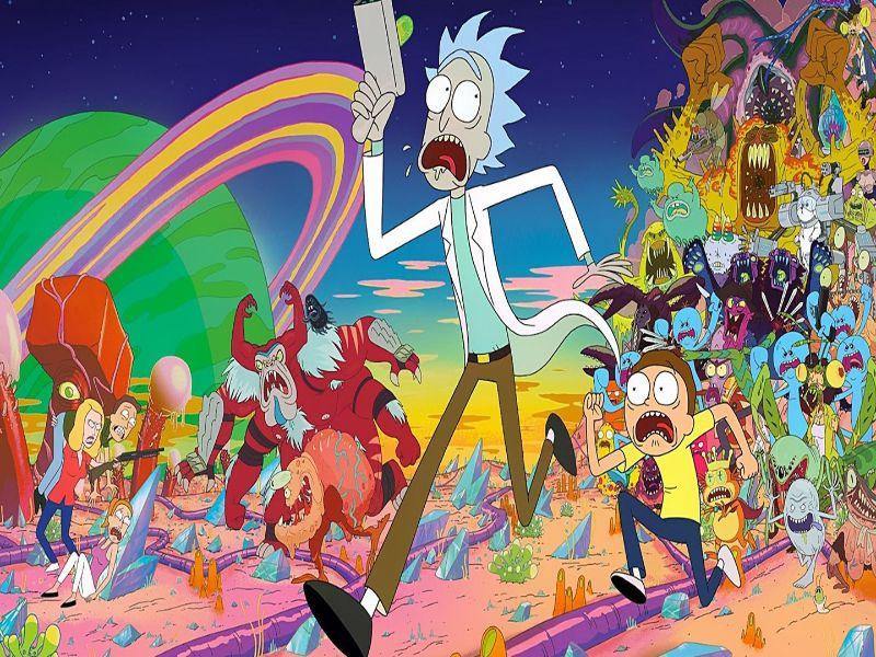 Series parecidas a Rick y Morty Foto oficial