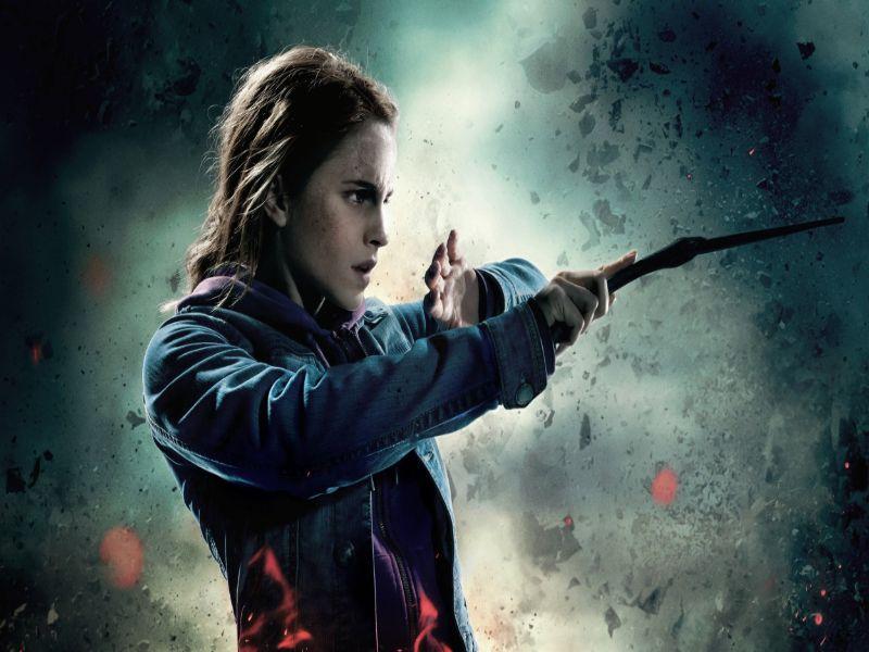 Sin Hermione Harry Potter hubiera muerto en el primer libro hermione con varita