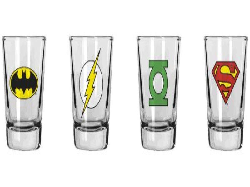 Vasos de chupitos originales de superheroes