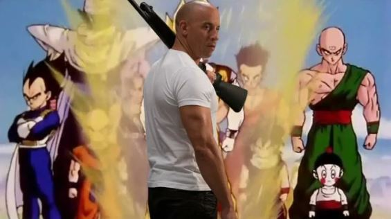 Vin Diesel familia en los memes de Dragon Ball