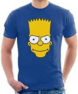 camisetas de los simpsons, camiseta de los personajes de los simpsons, camiseta de bart simpson