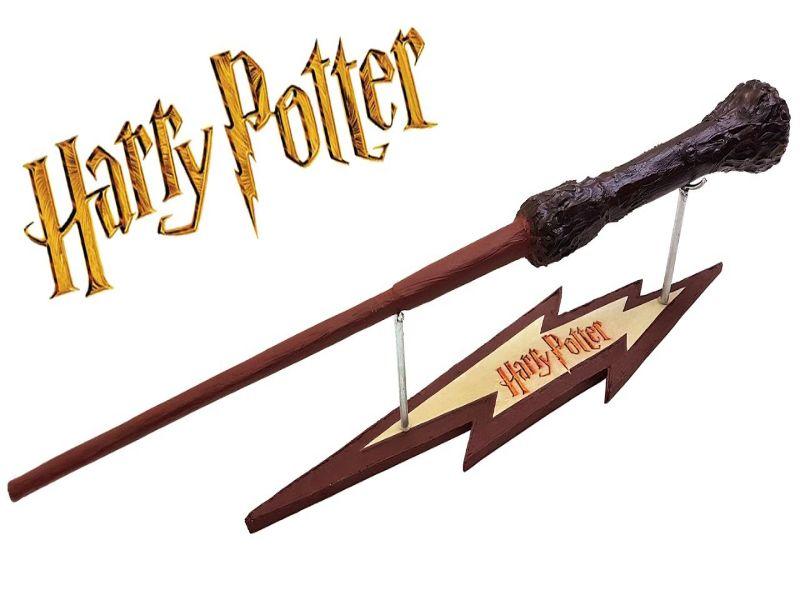 mira como hacer varitas de Harry Potter