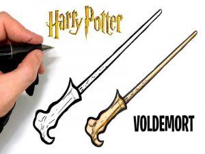 hacer varitas de Harry Potter, hacer varitas de Harry Potter fáciles y rápidas