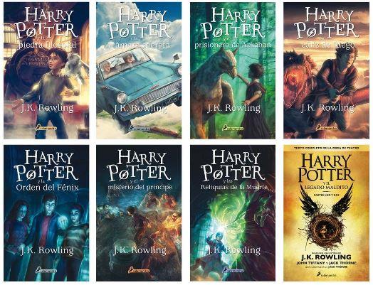 este es el orden para leer los libros de harry potter de manera correcta