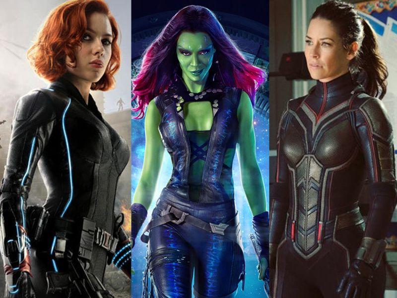 personajes de marvel mujeres famosas
