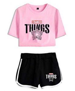 pijamas ropa de dormir de stranger things niñas