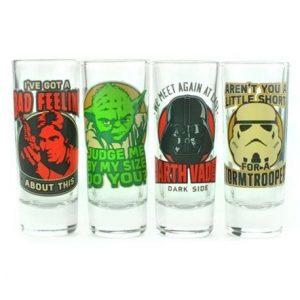 comprar vasos de chupito originales, vasos de chupitos frikis y divertidos originales para beber shots en fiestas