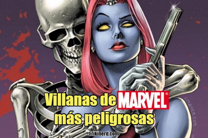 villanas de marvel mas peligrosas, conoce a los villanos de Marvel mujeres