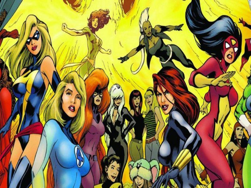 villanos de marvel mujeres en comics