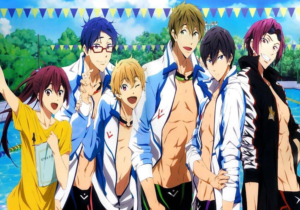 free es un anime con chicos guapos, top animes de chicos guapos