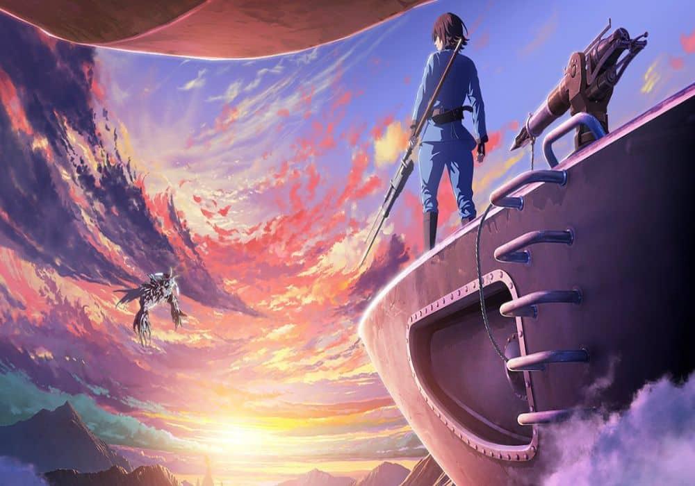 Animes de dragones, Drifting Dragons