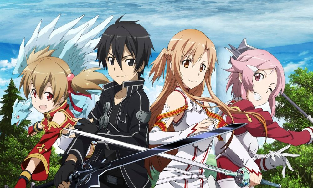 Sword Art Online, los mejores anime para parejas y animes de parejas