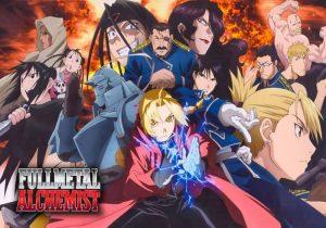 animes de culto: Fullmetal Alchemist Brotherhood. El anime al que se le hace más culto en el mundo.