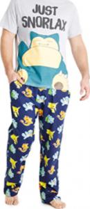 mono pijamas pokemon para hombres adultos pikachu