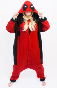 pijama deadpool para mujer