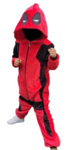 pijamas deadpool para niñas y niños