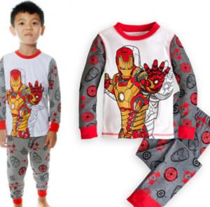comprar pijamas iron man para niños