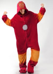 Pijamas Iron man en Amazon de gran calidad